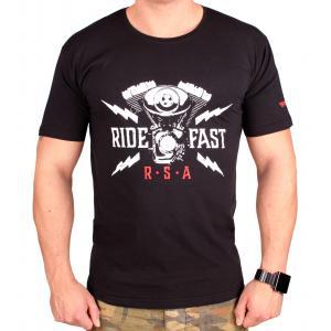 Triko RSA Ride Fast černé