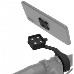 Držák telefonů, kamer, navigací Oxford CLIQR s předsazením na cyklo řídítka
