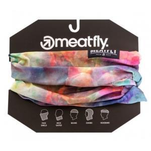Multifunkční šátek Meatfly Tunnel Buff barevný