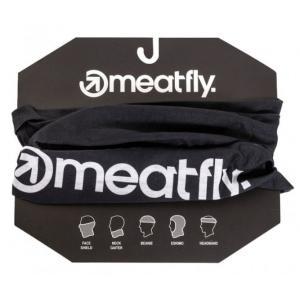 Multifunkční šátek Meatfly Tunnel Buff černý