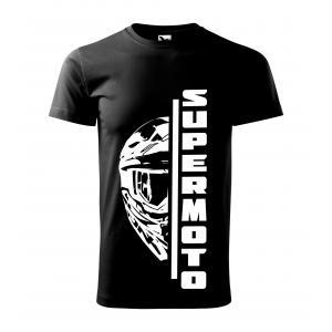 Pánské triko SUPERMOTO černé