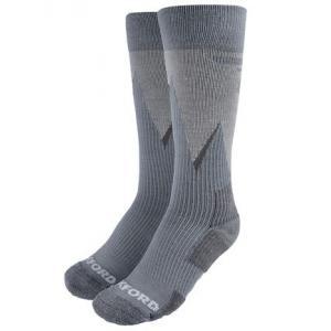 Ponožky Oxford Merino šedé