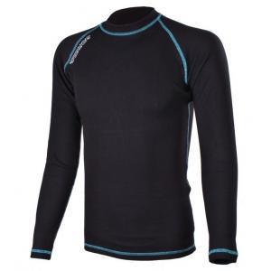 Termo triko RSA Heat černo - modré dlouhý rukáv