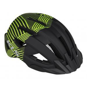 Cyklo přilba KELLYS Daze černo-zelená