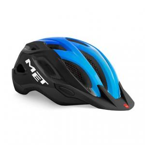 Cyklo přilba MET Crossover černo-modrá