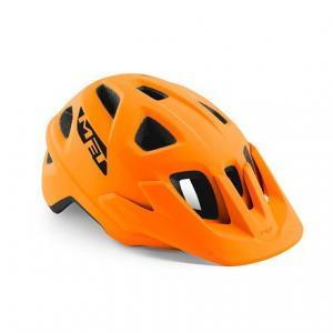 Cyklo přilba MET Echo oranžová