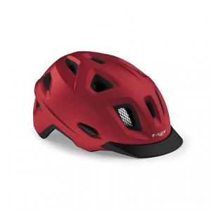 Cyklo přilba MET Mobilite červená