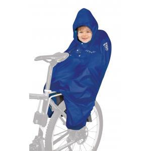 Dětská pláštěnka na kolo FORCE Poncho modrá