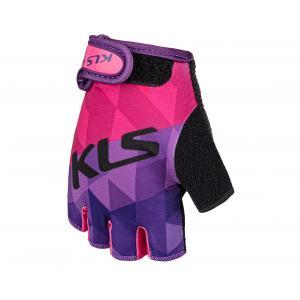 Dětské rukavice KELLYS Yogi Short fialové