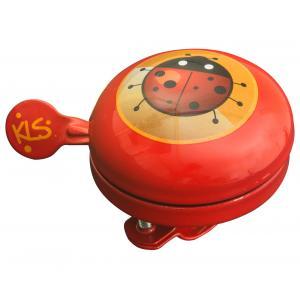 Dětský zvonek KELLYS Bell 60 Kids červený