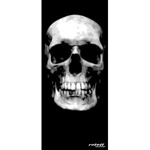 Nákrčník Roleff Big Skull černý