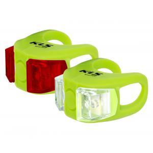 Přední + zadní světlo KELLYS Twins zelené