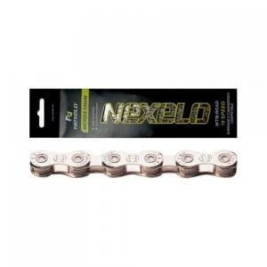 Řetěz NEXELO 10 rychlostí stříbrný