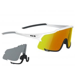Sluneční brýle KELLYS Dice Photochromic bílé