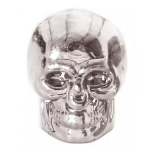 Čepičky na ventilky Oxford Skull stříbrné