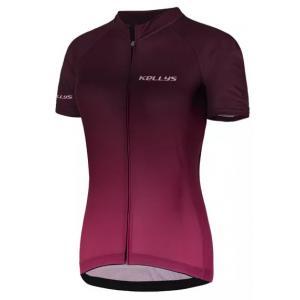 Dámský dres KELLYS Maddie 2 fialový - krátký rukáv