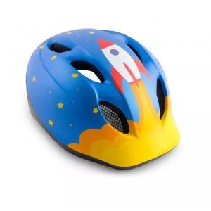 Dětská cyklo přilba MET Buddy modro-žlutá