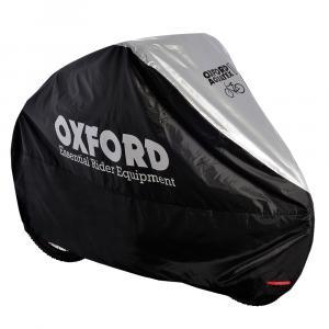 Plachta na kolo Oxford Aquatex černo-stříbrná